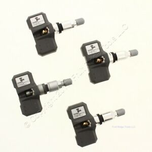 New Set Of 4 Orange Electronic To33021 Tpms Tire Air Pressure Sensor