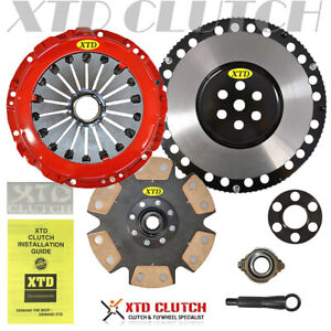 Stage Ceramic 4 Clutch Flywheel Kit Fits 97 08 Hyundai Elantra Tiburon 2 0l