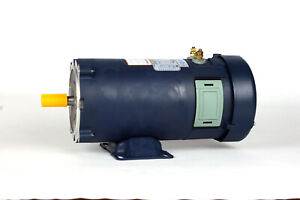 Dc Motor Brush type 48 Frame Zyt48 10 With 24vdc 1hp 1800rpm Tefc Ul 108053