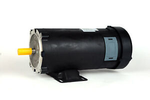 Dc Motor Brush type 56 Frame Zyt48 19 With 90vdc 1hp 1750rpm Tefc Ul 108022