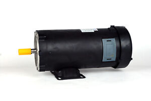 Dc Motor Brush type 56 Frame Zyt48 20 With 180vdc 1hp 1750rpm Tefc Ul 108023