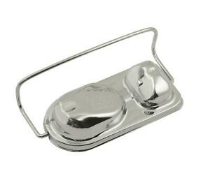 Mr Gasket Master Cylinder Cover Steel Chrome Single Bail 5 750 X 2 750 Each