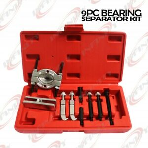 9pc Mini Bearing Puller Separator Set Pull Out Jaw Gear Pulley Remova 30 50mm