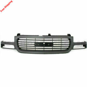 New For Gmc Sierra Yukon Hd Front Grille Fits 2000 2006 19130786 Gm1200429