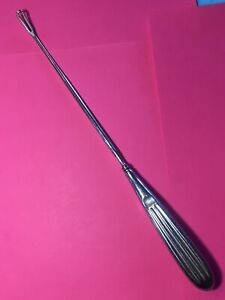 Antique Curette Medical Surgical Instrument B12