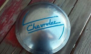 1937 1938 Chevrolet Dog Dish Hubcap Original