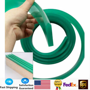 70 Duro Durometer Silk Screen Printing Squeegee Blade Green High Quality