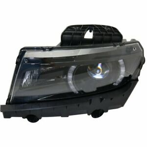 Headlight For 2014 2015 Chevrolet Camaro Left With Rs Package Hid Composite