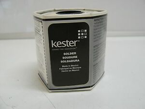 Kester 24 6337 8834 Solder 50mm 020 Core Size 58 New