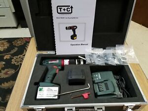 T c 1 4 1 00 Battery Powered Tube Squaring facing Orbital Welding Arc Machines