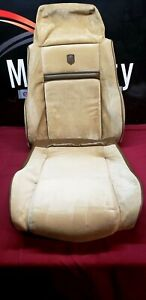 1984 1988 Pontiac Fiero Factory Seat Covers 2 Piece Driver Or Passenger Side Tan