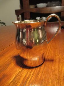 Vintage Caldwell Sterling Silver Creamer Pitcher Paul Revere Reproduction 138 G