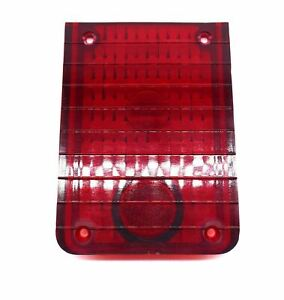 Jeepster Commando Red Tail Light Lens 1967 1973