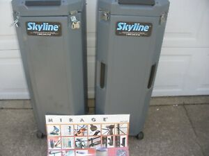 Skyline Mirage 8 Foot Pop Up Display Trade Show Booth Excellent