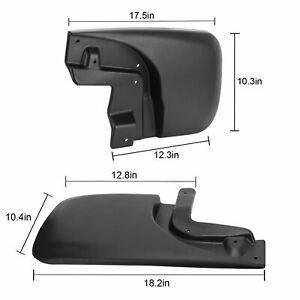 Fit For Toyota Tacoma 2005 2015 Mud Flaps Splash Guards Front Rear Molded New