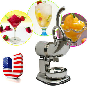 Ice Shaver Machine Sno Snow Cone Maker Shaved Icee Electric Crusher Icy Drink Us