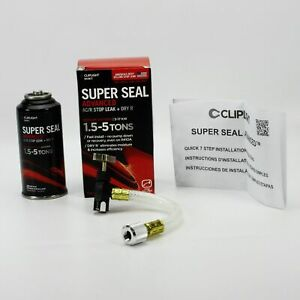 Cliplight 944kit Super Seal Advanced Ac r Stop Leak Dry R 1 5 5 Ton Systems