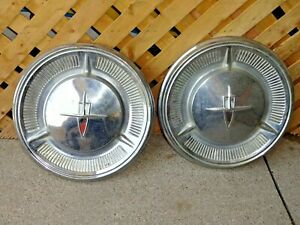 Lot Of 2 Oldsmobile 1959 1960 Dog Dish 10 1 2 Hubcap Wheel Covers 59 60