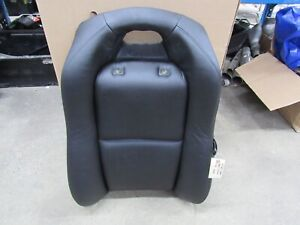 2004 2006 Pontiac Gto Oem Rear Seat Upper Section Leather Black Lh Driver F9