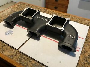 Chevy 250 292 Inline 6 Performance Twin Intake Manifold Made By Clifford