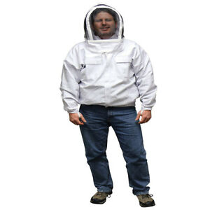 Mann Lake Economy Beekeeper Jacket With Self Supporting Veil Small Cv400