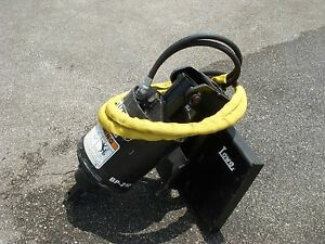 Toro Dingo Mini Skid Steer Attachment Lowe Bp210 Hex Auger Drive Ship 199