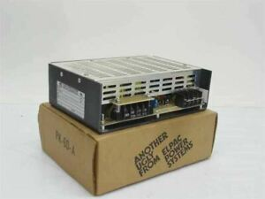 Elpac Es 100 24 24 Volt Dc 4 Amp Power Supply Input 115 230 Volt Ac
