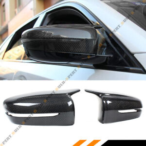 For 17 2020 Bmw G30 G20 M Style Wing Carbon Fiber Replacement Side Mirror Covers