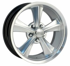 Rocket Racing Wheels Booster Rim 18x7 5x5 Offset 12 Silver Paint mach qty Of 1