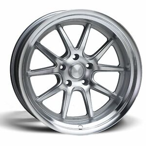 Rocket Racing Wheels Attack 18x11 5x120 65 Et 25 3 Titanium Mach Qty Of 1
