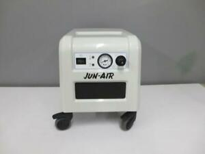 Jun air Model 85r 4p Compact Quiet Oil free Dental Air Compressor