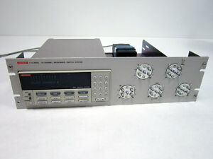 Keithley Instruments 7116 mws 16 channel Microwave Switch System