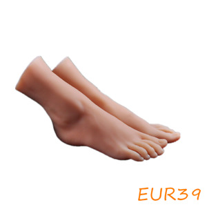 Female Silicone Feet Display Model Lifelike Legs Mannequin One Pair Us Stock