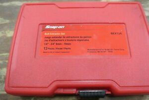 Snap on Bex13a Bolt Extractor Set