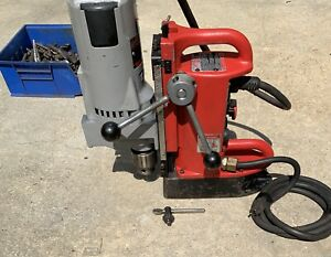 Milwaukee 4203 Electromagnetic Magnet Drill 4262 1 Drill 3 4 Mag Drill