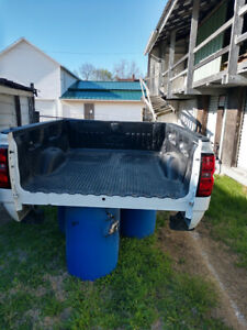 2014 2015 2016 2017 2018 Chevy 2500hd Used Truck Bed White Srw 6 5ft Crew Cab