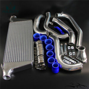 For Mazda Rx7 Fc Fc3s 13b 86 91 Fmic Single Turbo Intercooler Kit 300 700hp