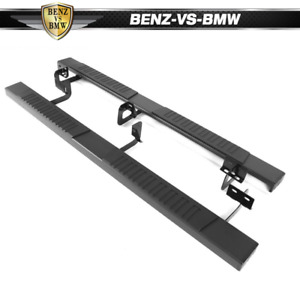 Fits 07 18 Toyota Tundra Double Cab 78 Side Step Bar Running Boards Lh Rh