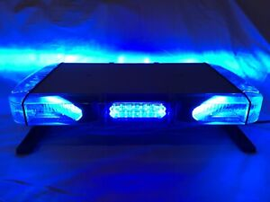 Whelen Mini Liberty Blue Whelen Liberty Mini Lightbar 22