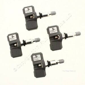 4 Pack New Orange Electronic Hy1fa00 Tpms Tire Air Pressure Sensor