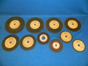 10 Belsaw Saw Sharpener Abrasive Grinding Wheels Stones In Various Sizes Foley