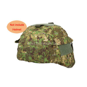 Emerson Tactical Airsoft Military MICH 2000 Ver2 Helmet Cover W Back Pouch GZ