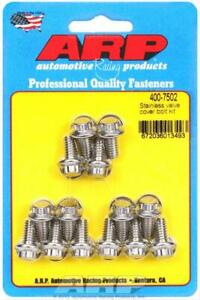 Arp 400 7502 Valve Cover Bolts Stainless 12 Point Stamped Steel Covers Set Of 14