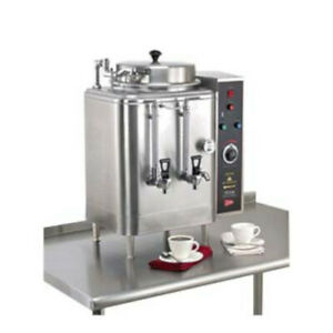Grindmaster cecilware Fe75n 3 Three Phase High Volume Single Electric Coffee Urn