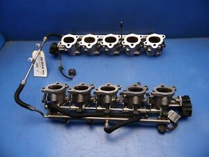 2006 Bmw E60 M5 Oem Individual Throttle Body Bodies Fuel Injectors V10 M