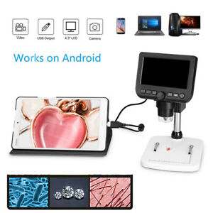 4 3 Usb Digital Microscope Camera Windows Mac Android Endoscope Zoom Electronic