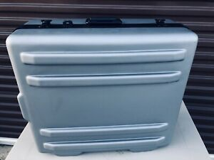 Parker Series Large Hard Plastic Shipping Case Container With Foam Inserts