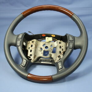 New Gm Oem Wood Leather Steering Wheel 00 05 Cadillac Seville Limousine Hearse