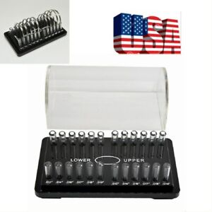 Us 1pc Dental Orthodontic Holder Organizer Case Box For Round Arch 9 10 5 20cm