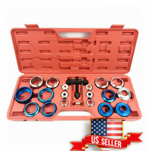 Us Auto Car Camshaft Crank Oil Seal Disassembly Remover Tool Kit Carbon Steel